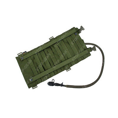 Tactical EG Style 2L Modular MOLLE Hydration Assault Water Bag Pack Pouch