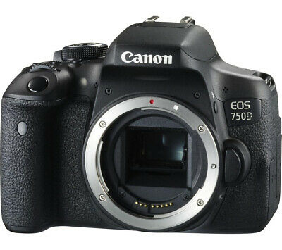 Canon EOS Rebel T6i/750d DSLR Camera (Body Only) Black!! Brand New!!