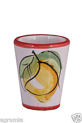 Handcrafted Limoncello Cups Ceramics, Earthenware, Hand made and Tableware