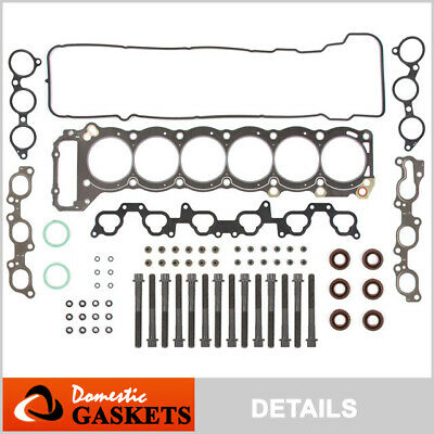 93-97 Toyota Land Cruiser Lexus LX450 4.5L L6 Head Gasket Bolts Set 1FZFE