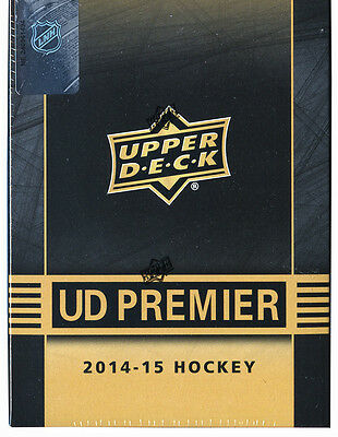 NIB 2014/15 Upper Deck UD Premier Trading Cards NHL Hobby Hockey 1 Box Tin Cards