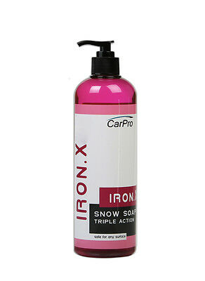 CarPro IronX Snow Soap 500mL - Iron Remover and Cleaner Car Pro Iron X Soap