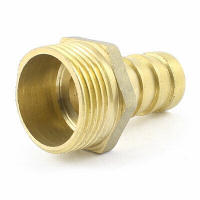 """3/4"""" PT Male x 16mm Hose Barb Air Gas Piping Brass Quick Coupler Adapter"""