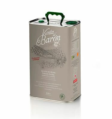 4 x Venta Del Baron EXTRA VIRGIN OLIVE OIL 2.5l Cans The World's BEST Olive Oil