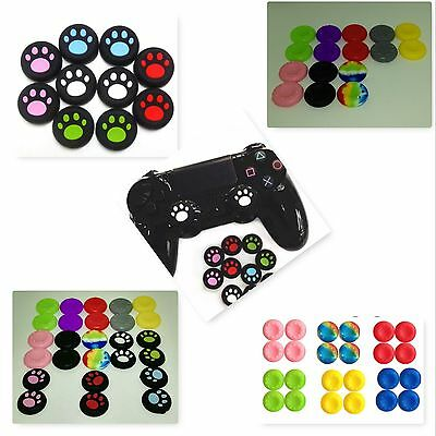 x2 Gel Analog Caps Cover Thumb Stick Grips For PS3 PS4 Xbox one Xbox 360 Wii U