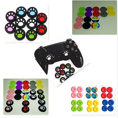 x4 Gel Analog Caps Cover Thumb Stick Grips For PS3 PS4 Xbox one Xbox 360 Wii U