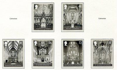 s3306) UK GREAT BRITAIN 2008 MNH** Cathedrals 6v