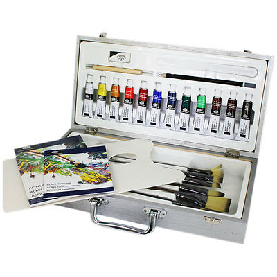 Royal & Langnickel - Zen Artists 26PC Acrylic Painting Art Set In Carry Case