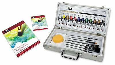 Royal and Langnickel Zen 29PC Watercolour Painting Art Set in Carry Case