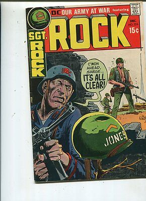 Our Army At War #226 Fine 1970 Sgt. Rocks Easy Co. It's All Clear  *SA