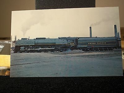 """Union Pacific 4-8-4  #839 post card 5 1/2"""" x 9"""""""
