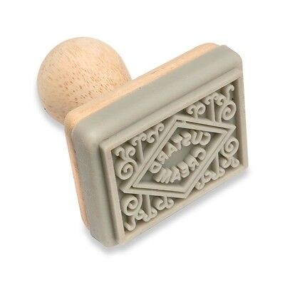 Biscuit Stamp - Custard Cream Biscuit stamp.Home Baking