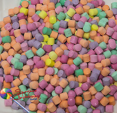 Mini Florals Drop Lollies 1kg - Wedding Confectionery, Lolly Buffet