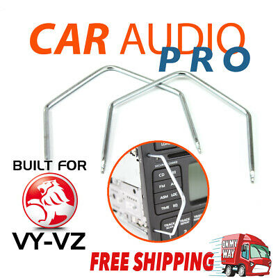 2 x RADIO REMOVAL TOOLS for HOLDEN VY-VZ COMMODORE & MONARO stereo keys pins