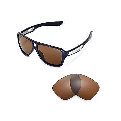 New Walleva Polarized Brown Replacement Lenses for Oakley Dispatch II Sunglasses