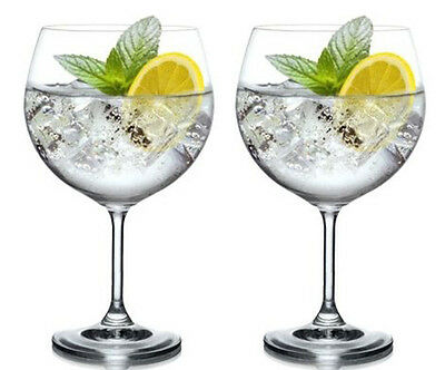 BOHEMIA CRYSTAL MAXIMA Wine gin and tonic Glass cocktail 820ml 29oz XXL set of 2