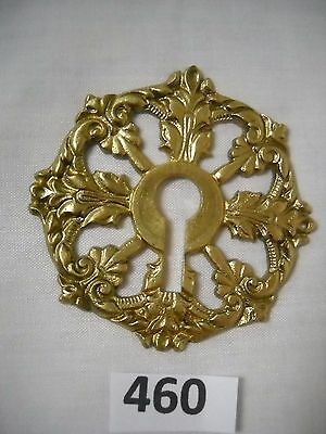 Antique Ornate French Furniture Keyhole Cover • CAD $23.40