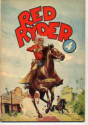 Red Ryder 4 Ed. Dupuis EO 1952 TTBE