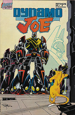 First Comics! Dynamo Joe! Issue 1!