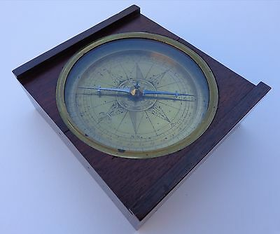 Extremely Rare Late 17th Early 18th Century Z Dutch Netherlands Marine Compass !