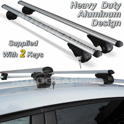CAR 4x4 MPV DYNAMIC ANTI-THEFT LOCKABLE ROOF BARS HEAVY DUTY 90KG LOAD!