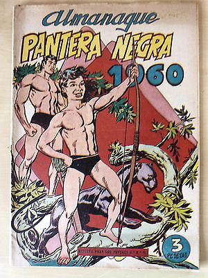 Pantera Negra Almanaque 1960,Editorial Maga (original)