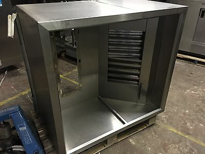 Stainless steel commercial extraction extractor canopy/hood   120 x 110 x 70
