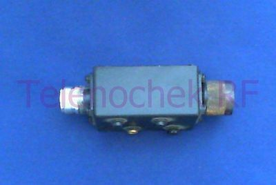 RF microwave low pass filter 1025 MHz CF/ 1650 MHz 30dB reject/  50 Watt / data