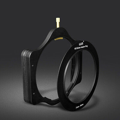 Metal 100mm Square Filter Holder +77 -86mm Slim Ring for 4X4 Lee Hitech Cokin Z