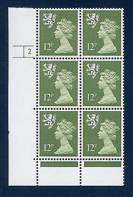 Regional Scotland Machin Blocks S33 - S42 mnh (Multiple Listing)