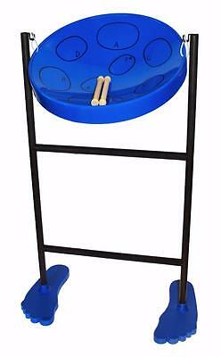 Jumbie Jam Panyard 40cm Steel Pan Drum in Blue JJ1058-BL **NEW**