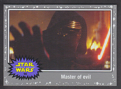 Topps Star Wars - Journey To The Force Awakens - Silver Parallel Card # 96
