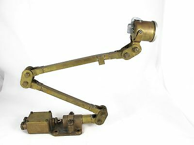 Vitavox Microphone Mounted On Mek-Elik Frame, Was Used On Warship C 1920's