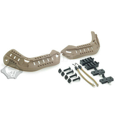 FMA MICH 2000 Helmet Guide Suit Rail Accessories Screws for Airsoft Paintball