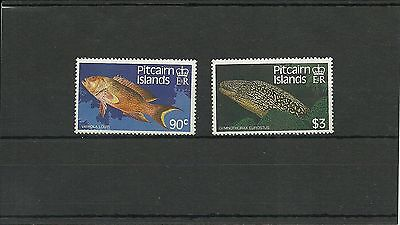 Pitcairn Islands Sg312-313 Fishes 2Nd Series Mnh