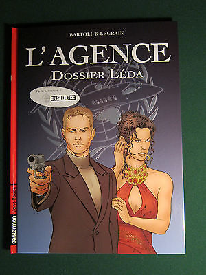 L'AGENCE TOME 1 : Dossier Léda  § EO § TTBE