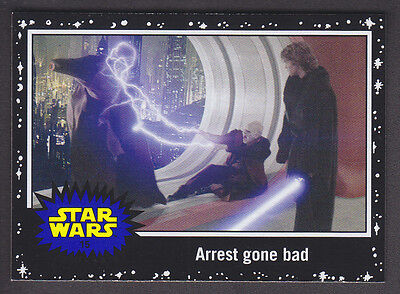 Topps Star Wars - Journey To The Force Awakens - Black Parallel Card # 15