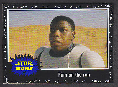 Topps Star Wars - Journey To The Force Awakens - Black Parallel Card # 81