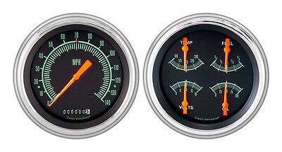 Classic Instruments 51-52 Chevy Car Package w/ G/Stock Gauges Dash Insert