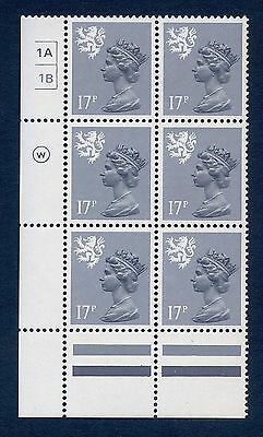 Regional Scotland Machin Blocks S43 - S66 mnh (Multiple Listing)