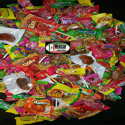 Jovy Revolcados Mix 5lb bag with chili Assorted flavored candy Mexican Candy