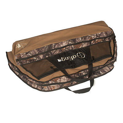 New Heavy Duty Camo Bow Bag for Compound Bow And Arrow, Archery, Case, Hunting