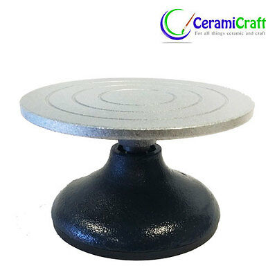 18cm Banding Wheel Metal Turntable Clay Pottery Tool Cake Decorating