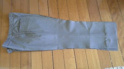 mens trouser pants khaki colour Target poly drip dry 92cm waist vgc