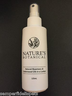 Nature's Botanical Rosemary & Cedarwood Oils in a Natural Spray 125ml