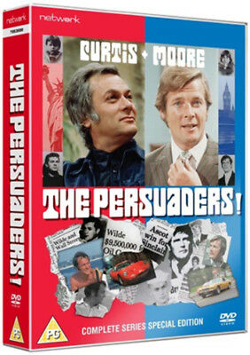 The Persuaders!: Complete Series DVD (2011) Tony Curtis ***NEW***