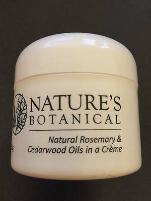 Nature's Botanical Rosemary & Cedarwood Oils in a Natural Crème 100gm