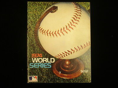 1974 Baseball World Series Program – LA Dodgers vs. Baltimore Orioles