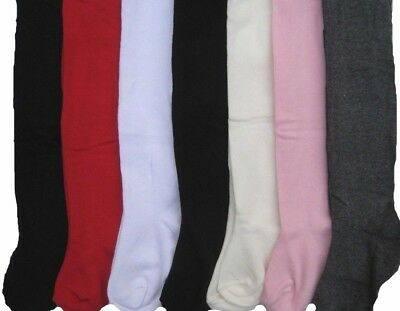 Girls Tights Baby Plain Cotton Babies Newborn Toddler 0 - 7 years VERY SOFT