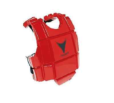 Proforce Martial Arts Chest Protector Sparring Gear Body Guard Taekwondo Red